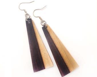 Earrings - Brazilian Rosewood