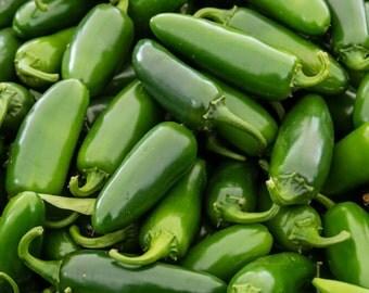 Organic Jalapeño Pepper Seeds 25+