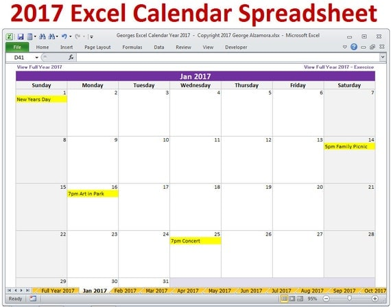 Calendar Editable Excel : Excel calendar template monthly and