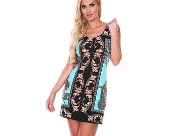 Rivera Textile - womens dress, shift dress, summer dress, spring dress,
