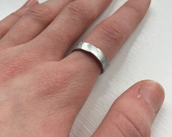 Pounded Ring Band