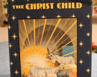 The Christ Child Vintage Children's Book by Doubleday USA