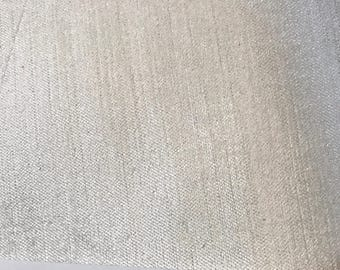 Solid Champagne - Shimmery Velvety Feel  - Upholstery Fabric By The Yard