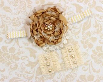 Newborn Lace Cuffs, Vintage Chic Lace Cuffs, Newborn Arm Cuffs, Vintage Couture Cuff, Newborn photography, Couture Headband, Lace Arm Cuffs