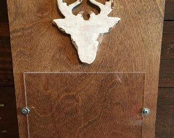 Deer Head Picture Frame