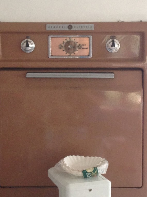Vintage General Electric Wall Ovens ~ S general electric wall oven retro vintage ge