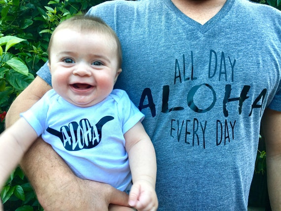 Hawaii Baby Onesies®, Aloha Boy Baby Onesies®, Baby Bodysuit, Hawaii Baby, Island Baby, Surfer boy, Hang Loose, Beach Baby, Baby Shower Gift
