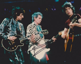 Keith Richards Rolling Stones Original Vintage Hand Signed 8X10 Autographed Photo