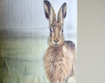 Hare Lampshade by Artist Grace Scott