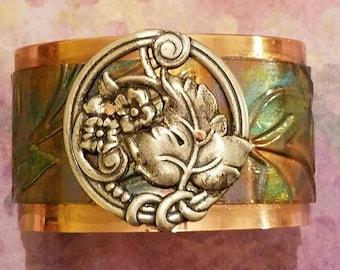Leaf Bracelet Cuff