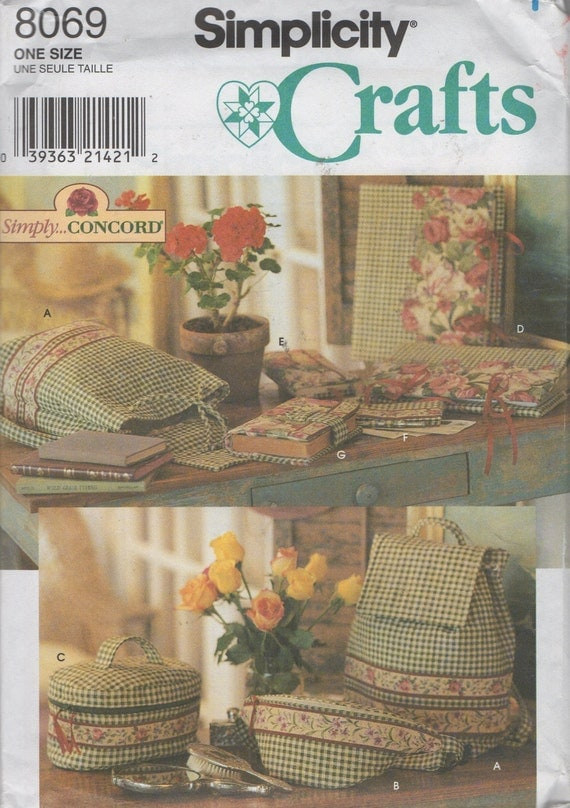 Cheque Book Cover Pattern ~ Bags and covers sewing pattern backpack cosmetic case