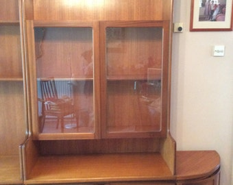SUZY - Marvin Midnight. Please Do Not Buy. Unless You Are The Recipient.  Mid Century Teak Wall Units Nathan 1970.