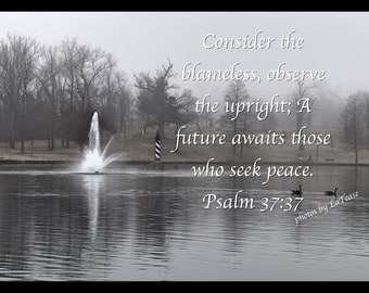 Psalm 37:37