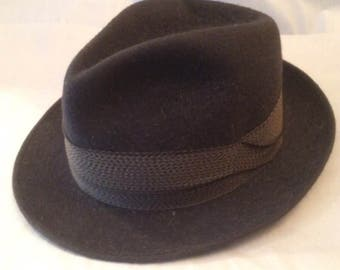 William Tell Style 'DER TELL-HUT' Felt Trilby Hat