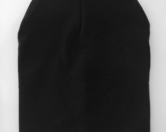 Black slouchy toque