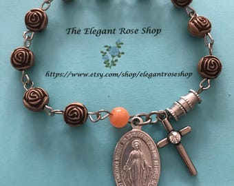 Beautiful Rosary Bracelet