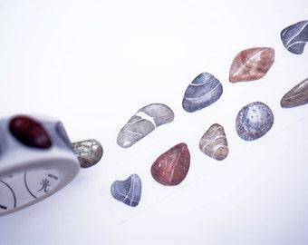 SALE!!Stone Washi Tape/Deco Masking Tape/Planner Sticker/ Deco tape  TZ1447