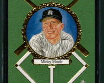 1990 Perez-Steele #8 Mickey Mantle SGC 8- 711/10000
