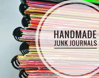 Handmade Recycled Art Junk Journals
