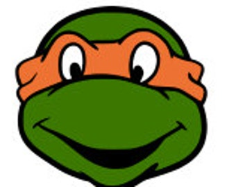 SVG, ninja turtles, turtles, michaelangelo, orange ninja turtle, cut file, printable,  cricut, silhouette, instant download