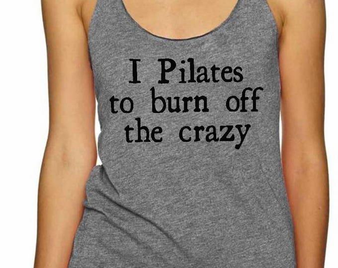 Pilates Crazy Racerback Tank Top