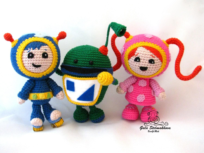 Free Crochet Pattern Umizoomi : Best friends Umizoomi team amigurumi crochet pattern bundle