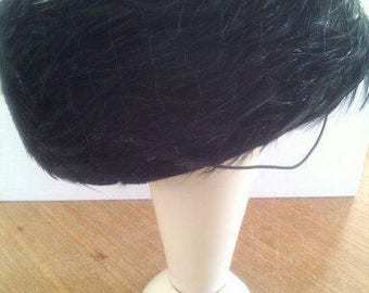 Vintage women's hat with ostrich feathers