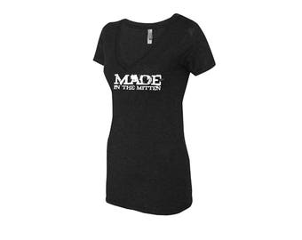 Made In The Mitten V-Neck