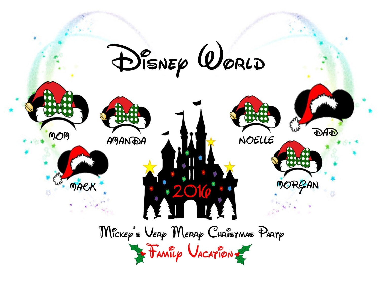 Disney World/ Disneyland 'Mickey's Very Merry Christmas Party ...