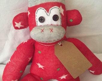 Custom Made Sock Monkey