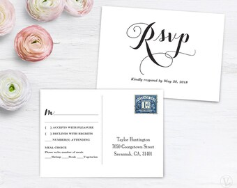 Printable wedding invitations programs and signs by for 6x4 postcard template