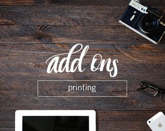 ADD-ON | custom printing