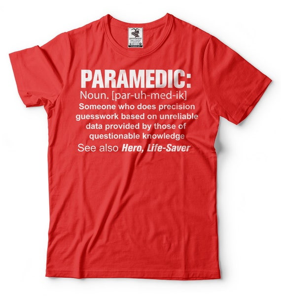 Sanitäter-t-Shirt lustige Sanitäter Definition t Shirt | {Rettungssanitäter kleidung 47}