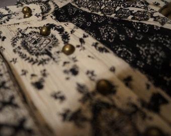 Boho Button Up Maxi Skirt