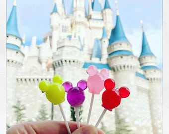 mickey mouse lollipop / brooch / disney / kawaii / choose your color