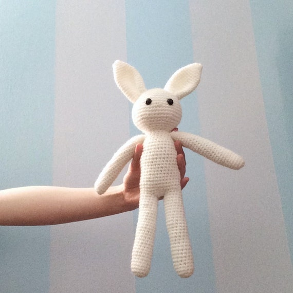 Amigurumi Stuffed Animals Patterns : PATTERN Crochet Bunny Pattern - Amigurumi Patterns ...