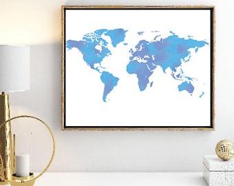 World Digital Art Printable