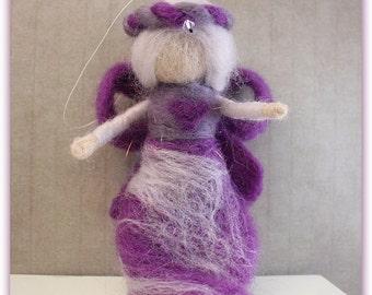 Angel ornament | Christmas fairy | needle-felted angel | needle felted fairy | wool fairy | SALE!