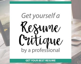 Resume Critique free rsum critique Resume Critique Professional Advice To Improve Your Resume Fully Customized Resume Writing Help Resume