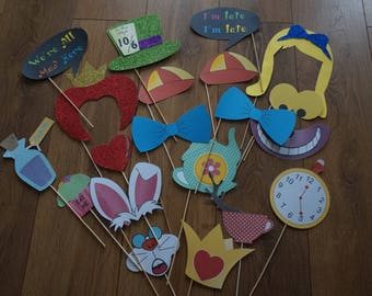 Alice In Wonderland Party Props For Photos at Birthdays, Weddings, Hen/Stag Partys, Baby Showers, Children's Parties
