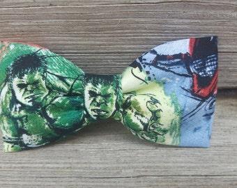 Bowties, Bow tie, Bow Ties, Angry Hulk bowtie, Angry Hulk Bow tie, Hulk Bowtie, Incredible Hulk bow tie