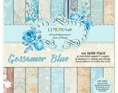 Lemoncraft Gossamer Blue 6x6 Designer Paper Stack