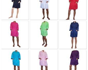 Monogrammed Bath Robe/ Spa Robe/ Getting Ready Bath Robe