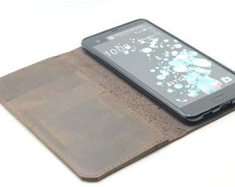 HTC U Ultra Leather Wallet Ocean Note  6 leather case   HTC U Ultra  Case  Leather HTC U Ultra   Wallet  case,  leather wallet case