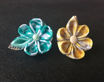 Modern fashion flower lapel pin