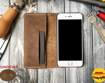 Leather Phone Case for iphone 5 wallet case, iphone 5 plus wallet case, leather iphone 5 case, leather iphone 5 plus case, leather case
