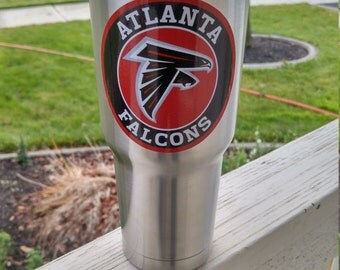 Atlanta Falcons YETI RTIC Tumbler Decal Sticker FREE  Fast Shipping! Buy 2 Get 1 Free! Best Seller! Only Here!  Get Now! Hot Seller