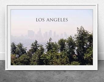 LA Landscape, DIGITAL Download, Los Angeles, Travel Print, Photography, Landscape Print, Wall Art, Home Decor, Instant File, 11x16 inch file