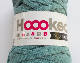 Hoooked RibbonXL, petroleum, 120m per roll (0,08 Euro/m)