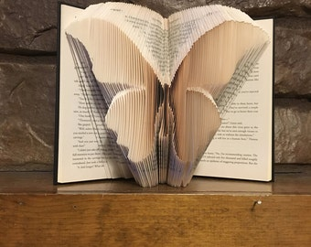 Butterfly Book Sculpture